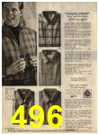 1968 Sears Fall Winter Catalog, Page 496
