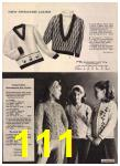 1965 Sears Fall Winter Catalog, Page 111