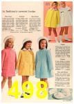 1964 Sears Spring Summer Catalog, Page 498