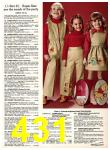 1978 Sears Fall Winter Catalog, Page 431