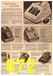 1963 Sears Fall Winter Catalog, Page 872