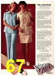 1974 Sears Spring Summer Catalog, Page 67