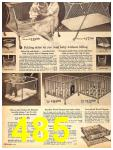 1962 Sears Fall Winter Catalog, Page 485