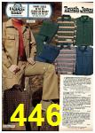 1975 Sears Fall Winter Catalog, Page 446