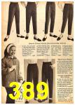1962 Sears Fall Winter Catalog, Page 389