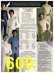 1982 Sears Fall Winter Catalog, Page 600