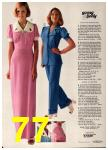 1974 Sears Spring Summer Catalog, Page 77