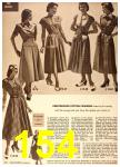 1949 Sears Spring Summer Catalog, Page 154