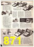 1969 Sears Fall Winter Catalog, Page 871