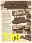 1958 Sears Fall Winter Catalog, Page 709