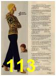1972 Sears Fall Winter Catalog, Page 113