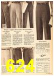 1962 Sears Fall Winter Catalog, Page 624
