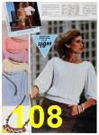 1985 Sears Spring Summer Catalog, Page 108
