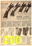 1962 Sears Fall Winter Catalog, Page 200
