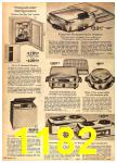 1962 Sears Fall Winter Catalog, Page 1182