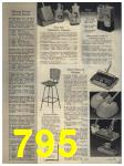 1965 Sears Fall Winter Catalog, Page 795