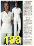 1981 Sears Spring Summer Catalog, Page 188