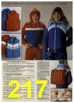 1980 Sears Fall Winter Catalog, Page 217