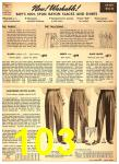 1949 Sears Spring Summer Catalog, Page 103
