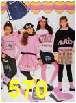 1988 Sears Fall Winter Catalog, Page 570