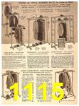 1956 Sears Fall Winter Catalog, Page 1115