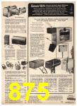 1975 Sears Fall Winter Catalog, Page 875