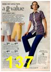 1972 Montgomery Ward Spring Summer Catalog, Page 137
