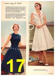 1958 Sears Spring Summer Catalog, Page 17