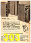 1962 Sears Fall Winter Catalog, Page 303