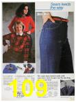 1985 Sears Fall Winter Catalog, Page 109