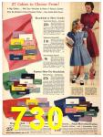 1940 Sears Fall Winter Catalog, Page 730