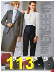 1986 Sears Fall Winter Catalog, Page 113