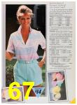 1985 Sears Spring Summer Catalog, Page 67