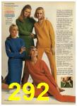 1968 Sears Fall Winter Catalog, Page 292