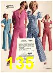 1974 Sears Spring Summer Catalog, Page 135
