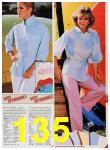 1986 Sears Spring Summer Catalog, Page 135