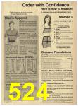 1973 Sears Fall Winter Catalog, Page 524