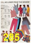 1987 Sears Spring Summer Catalog, Page 285