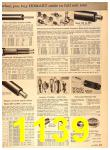 1960 Sears Fall Winter Catalog, Page 1139
