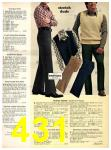1973 Sears Fall Winter Catalog, Page 431