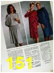 1985 Sears Fall Winter Catalog, Page 151