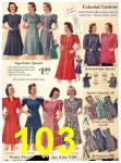 1940 Sears Fall Winter Catalog, Page 103
