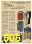 1962 Sears Spring Summer Catalog, Page 505