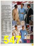 1986 Sears Fall Winter Catalog, Page 547