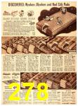 1940 Sears Fall Winter Catalog, Page 278