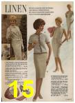 1962 Sears Spring Summer Catalog, Page 15