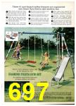 1969 Sears Spring Summer Catalog, Page 697