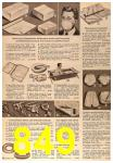 1963 Sears Fall Winter Catalog, Page 849