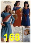 1980 Sears Fall Winter Catalog, Page 168