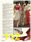 1975 Sears Spring Summer Catalog, Page 112